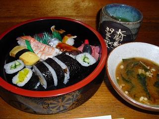平成22年5月28日太閤寿司1