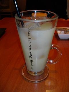 平成22年ハミングバード・グレープフルーツジュース