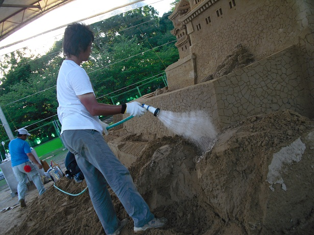平成22年7月20日砂の姫路城3
