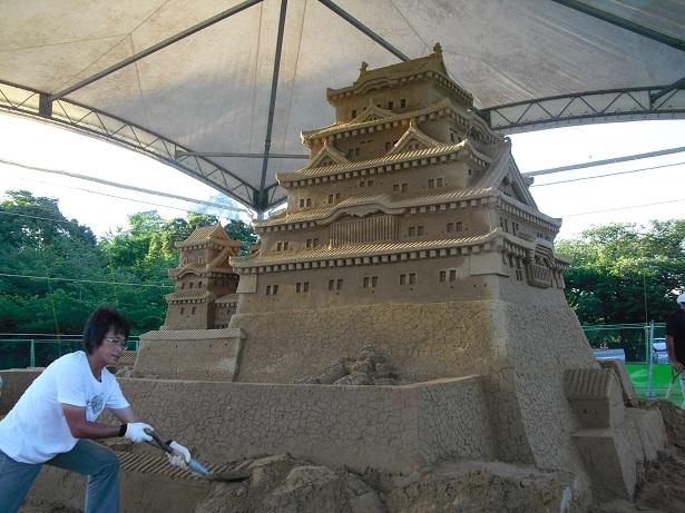 平成22年7月20日砂の姫路城2