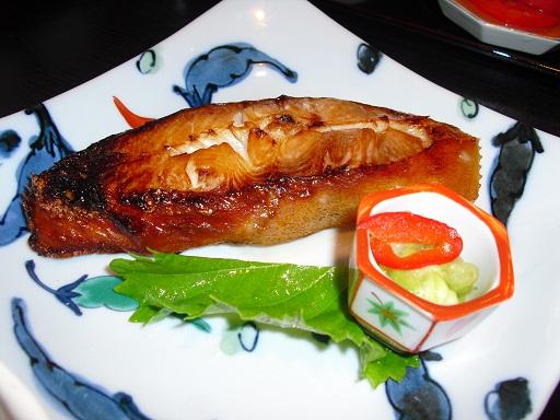 平成22年8月3日焼き魚