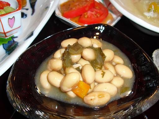 平成22年8月3日煮豆