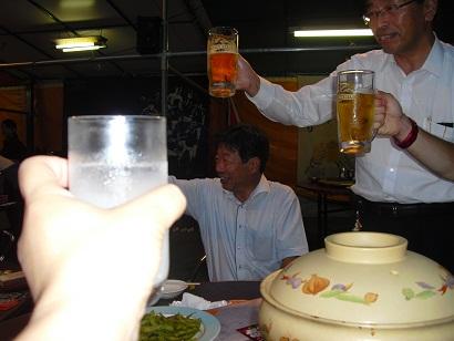 平成22年9月4日おでん鍋乾杯