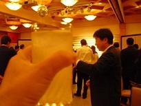 コムサロン21・19周年記念パーティ乾杯