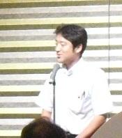 コムサロン21・19周年記念パーティ竹内さん