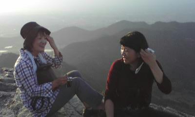 平成22年10月16日山頂にて2