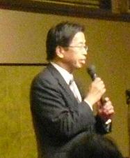 平成22年12月3日前川理事長挨拶