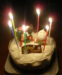 平成22年クリスマスケーキ