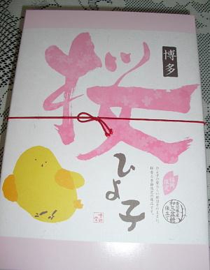 平成23年3月桜ひよこ