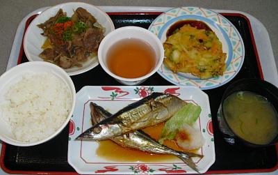 平成23年4月19日魚定食