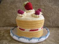 イチゴのショートケーキ帽子2