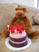 ケーキ帽子