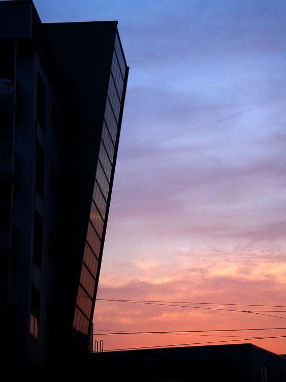 090626今日の夕景1