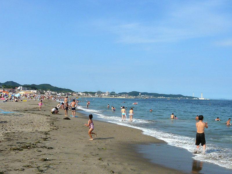 090720海の日の三浦海岸1