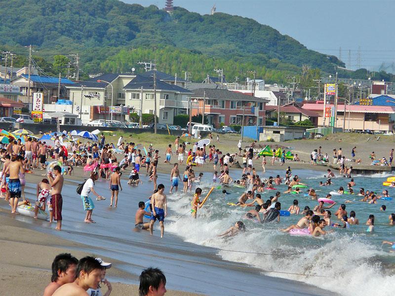 090720海の日の三浦海岸2
