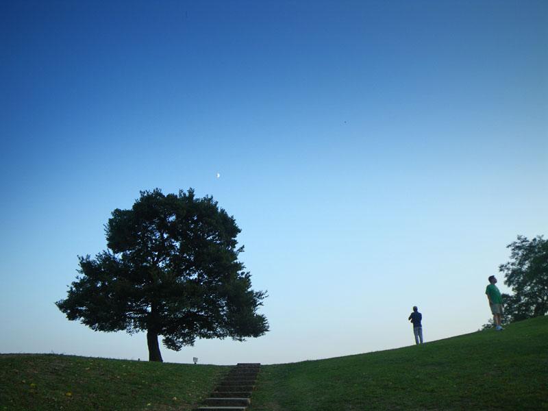 090926榎の丘夕景