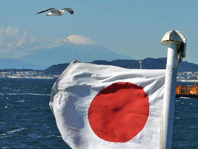 091103東京湾フェリーから望む富士1