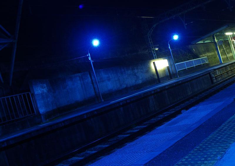 081224弘明寺青い光1