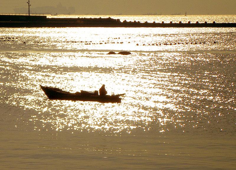 100131朝の長瀬海岸3