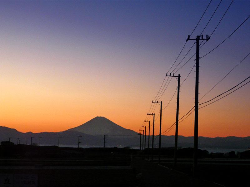 100207三戸浜夕陽7