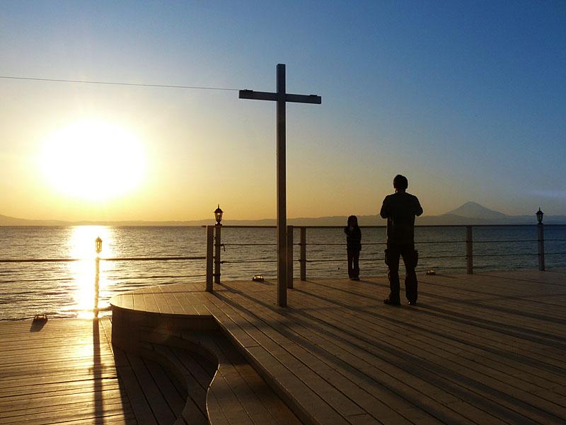 100207三崎からの富士7