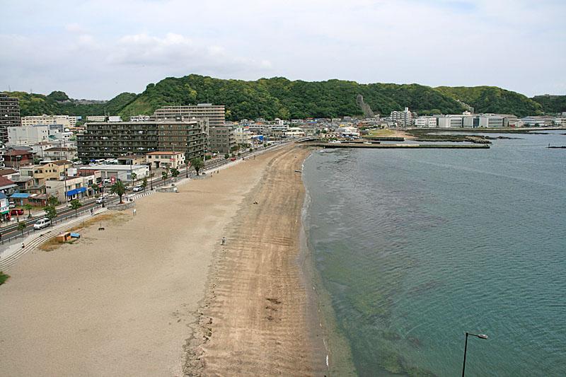 100613久里浜海岸俯瞰1