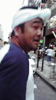 渋谷で見かけた漁師!