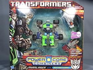 PCC 5pack MUDSLINGER with DESTRUCTICONS 1001