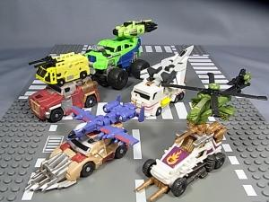 PCC 5pack MUDSLINGER with DESTRUCTICONS 1021