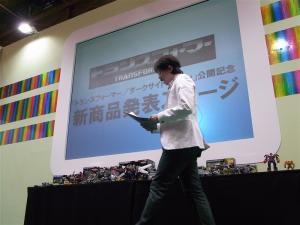 東京おもちゃショー2011 トランスフォーマー新製品発表会&MP-10 1004