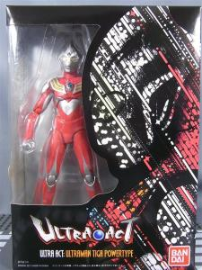 ultra-act tiga power type 1001