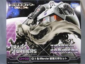 TFクロニクル メガトロンセット G1メガトロン 1001