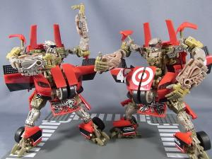 比較:TF DOTM DA30 レッドフットデトゥア軍曹& HA exclusive LEADFOOT and Steeljaw 1024