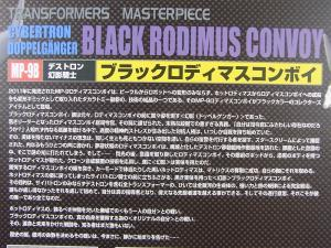 MP-9B BLACK RODIMUSとRODIMUSの対決 1001