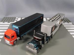 トミカTF ブラックオプティマス、ラッピングトレーラー、通常タンクローリー 1020