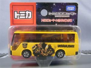 トミカTF バンブルビー、ラッピングバス、通常camaro 1002
