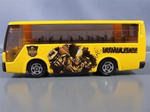 トミカTF バンブルビー、ラッピングバス、通常camaro 1006