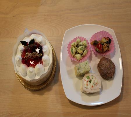 ケーキ オードブル