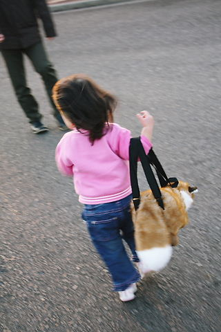 ママよりきつねのバッグ