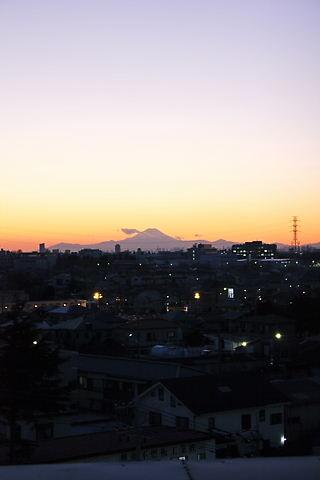 富士山 たて
