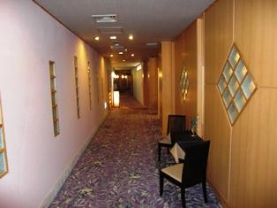 銀山荘廊下