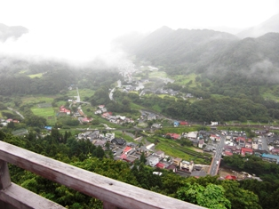五大堂からの眺め