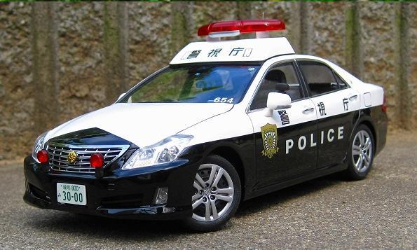 アオシマクラウンパトカー