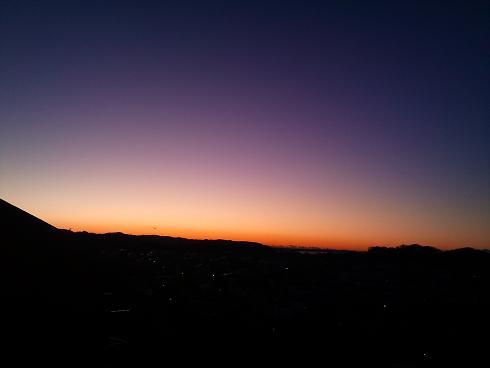 画像 002日の出前
