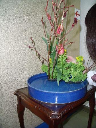 090213チューリップ菜の花