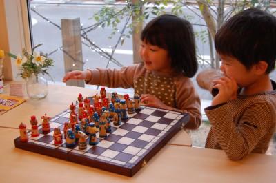 チェスしたり・・・