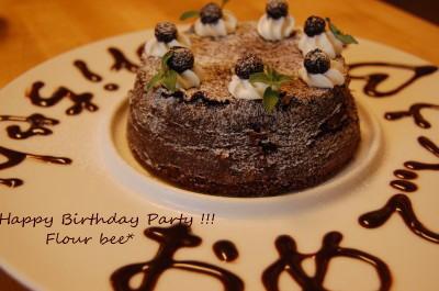 お誕生日ケーキ!