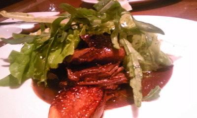 パリオランジュ200910蝦夷鹿赤ワイン煮