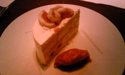 ノガラッツァディナーカットケーキ