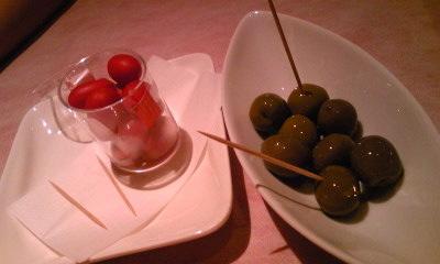 ラパッキアオリーブとトマト